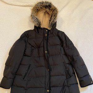 Black Ralph Lauren Down Winter Coat Size P XL